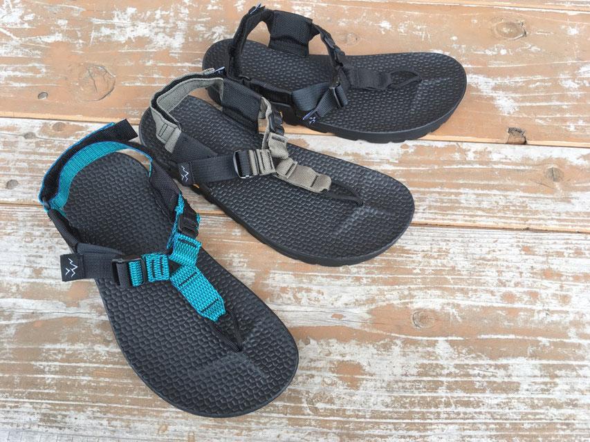 BEDROCK SANDALS(ベッドロックサンダル) Carin 3D Adventure Sandals 各¥17,000(+TAX)