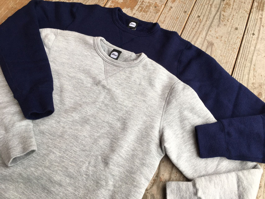 Yetina(イエティナ) Sweat Shirt 各¥18,000(+TAX)