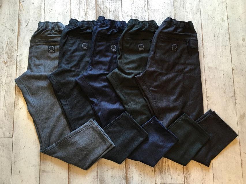 山と道(ヤマトミチ) 5-Pocket Merino Pants 各¥25,000(+TAX)