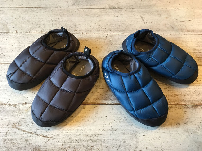 Rab(ラブ) Hut Slippers 各¥8,000(+TAX)