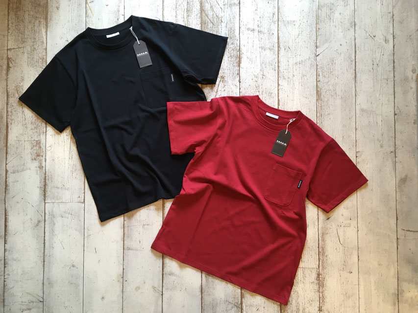 Mountain Martial Arts(マウンテンマーシャルアーツ) Dry Cotton Pocket Tee 各¥6,000(+TAX)