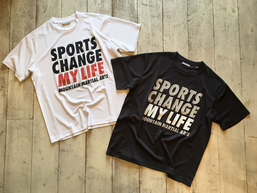 Mountain Martial Arts(マウンテンマーシャルアーツ) Sports Change My Life Big Tee 各¥7,020(税込)
