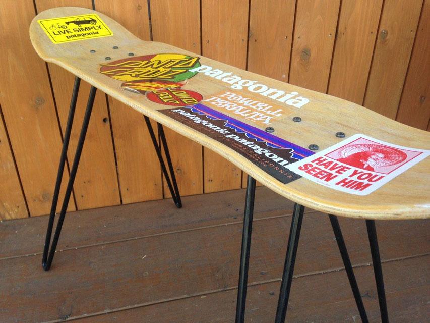 SKATE FUNITURE(スケートファニチャー) SKATE STOOL & SKATE TABLE