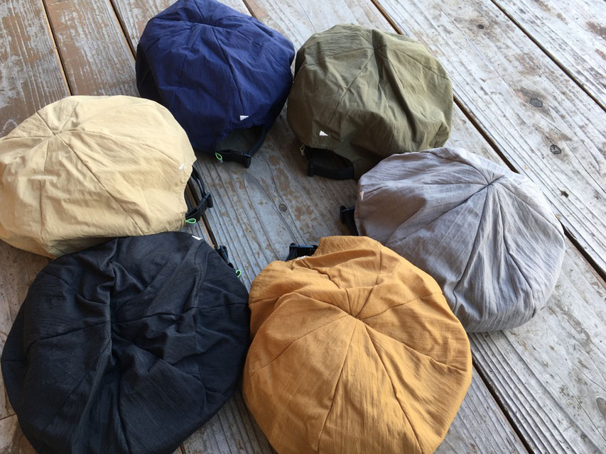 halo commodity(ハロ コモディティ) Salt Path Beret 各¥3,900(+TAX)