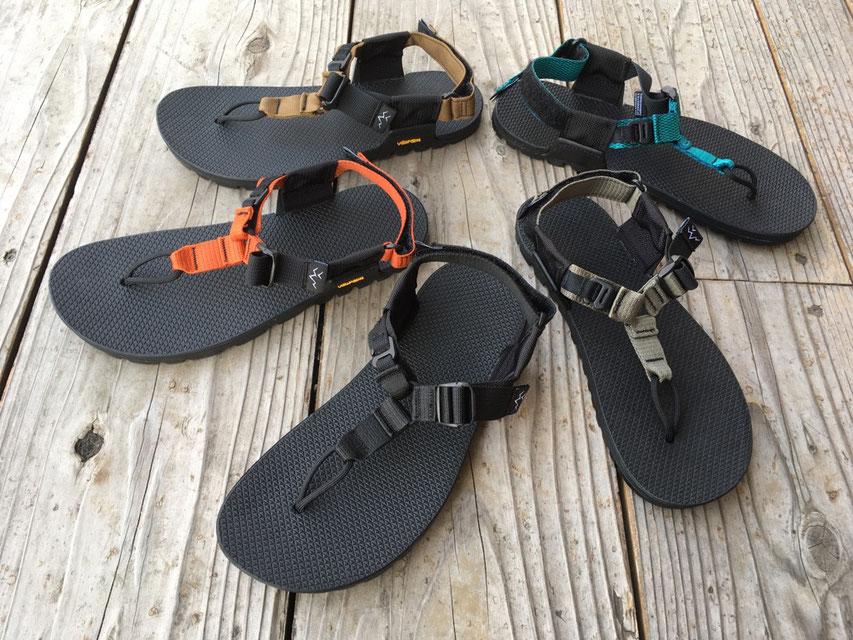 BEDROCK SANDALS(ベッドロックサンダル) Cairn Adventure Sandals 各¥16,000(+TAX)