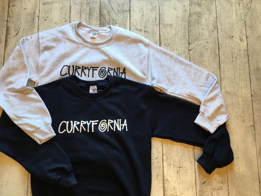 CURRYMASON(カリーメイソン) CURRYFORNIA STSY SWEAT CREW 各¥5,000(+TAX)