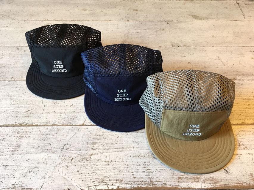 ELDORESO(エルドレッソ) BEYOND MESH CAP 各¥6,480(税込)