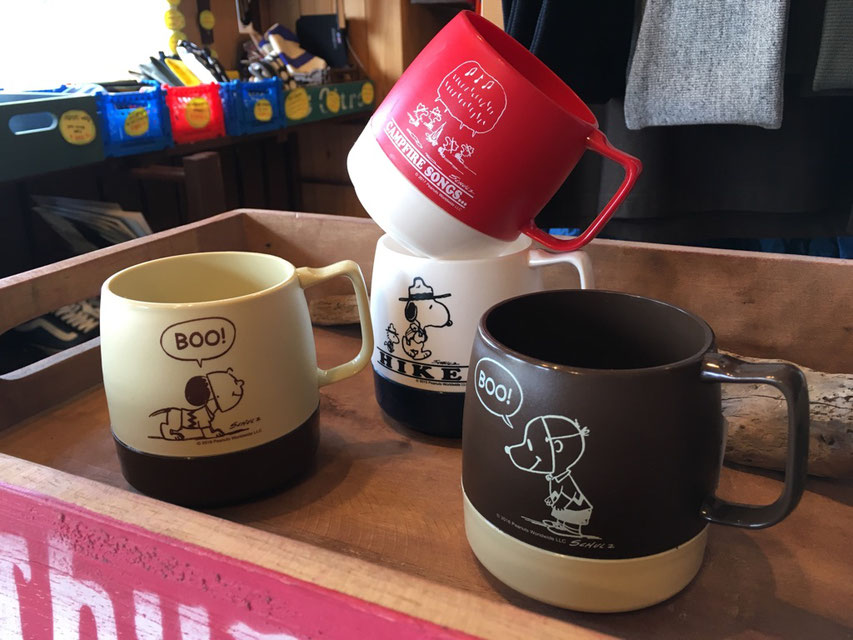 DINEX(ダイネックス) Printed 8 oz Mug PEANUTS 各¥1,296(税込)