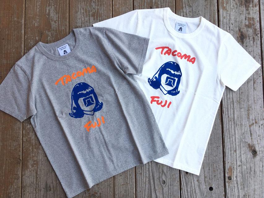 TACOMA FUJI RECORDS(タコマフジレコード) TACOMA FUJI HANDWRITING LOGO Tee 21 各¥5,800(+TAX)