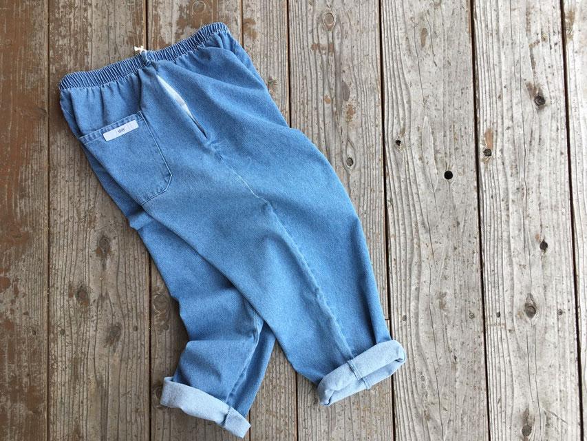 VOIRY(ヴォイリー) SUNDAY PANTS-DENIM ¥8,500(+TAX)