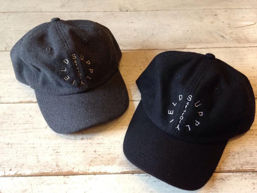 SaturDIY(サタデイ) Wool Baseball Cap  各¥5,184(税込)
