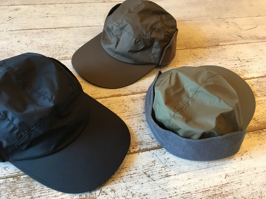 halo commodity(ハロ コモディティ) Ray Flap Cap 各¥7,900(+TAX)
