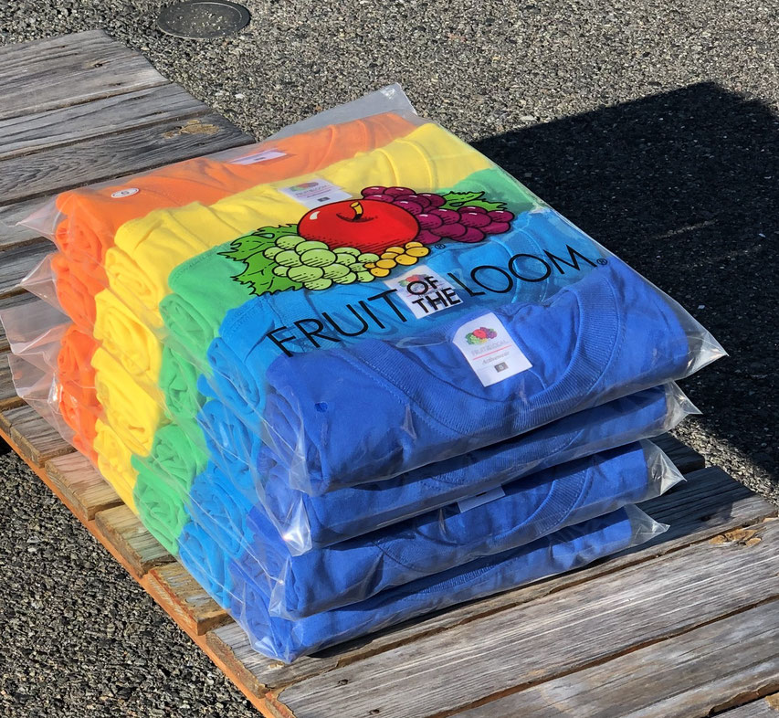 FRUIT OFF THE LOOM(フルーツオブザルーム) FRUIT 5P Pocket Tee ¥5,000(+TAX)