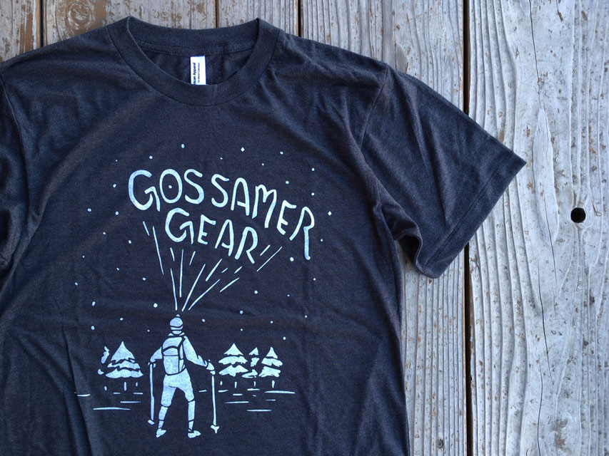 GOSSAMER GEAR(ゴッサマ―ギア) GLOW IN THE DARK SHIRTS ¥3,900(+TAX)