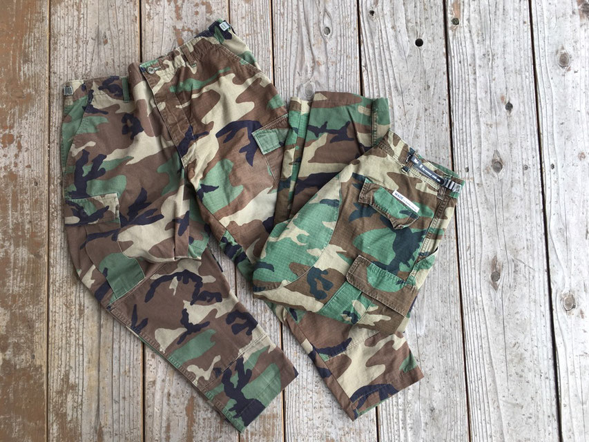 Sunny Side Up(サニーサイドアップ) Remake 2 for 1 Camo Pants ¥14,800(+TAX)