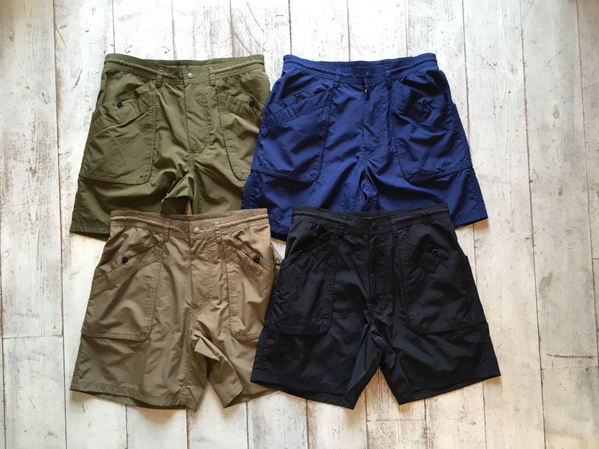 BURLAP OUTFITTER(バーラップアウトフィッター) GUIDE SHORT 各¥10,000(+TAX)