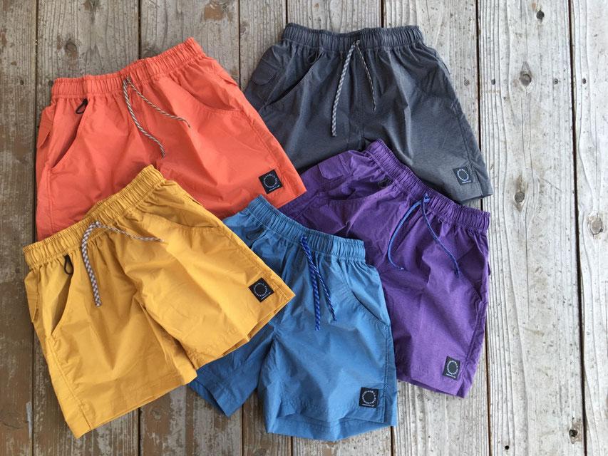 山と道(ヤマトミチ) 5-Pocket Light Shorts 各¥12,000(+TAX)
