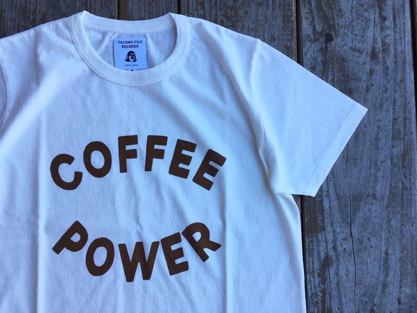 TACOMA FUJI RECORDS(タコマフジレコード) COFFEE POWER designed by Yunosuke ¥6,800(+TAX)