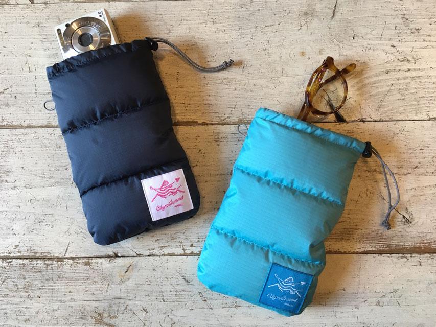 PAPERSKY(ペーパースカイ) 寝袋サングラスケース / Sunglass Bag 各¥4,100(+TAX)