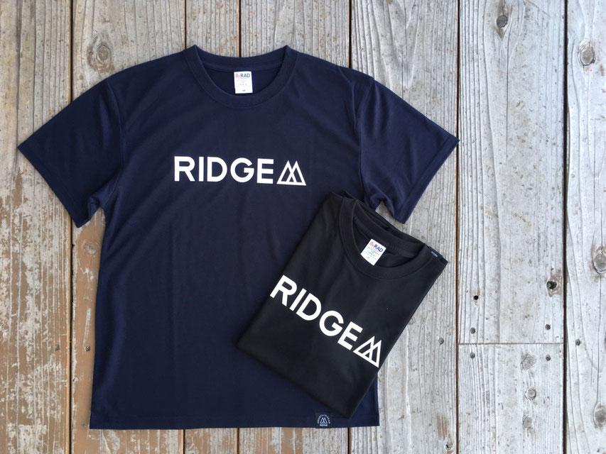 RIDGE MOUNTAIN GEAR(リッジマウンテンギア) Logo Tee 各¥3,000(+TAX)