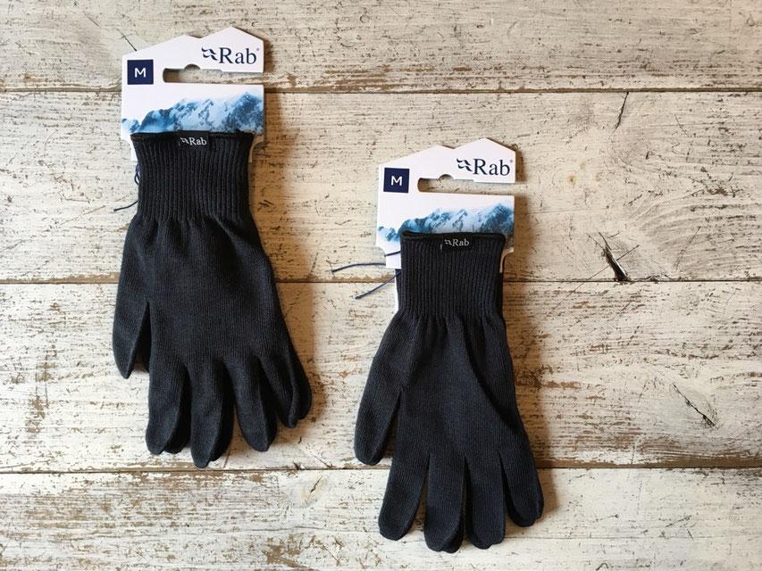 Rab(ラブ) Stretch Knit Glove ¥1,200(+TAX)