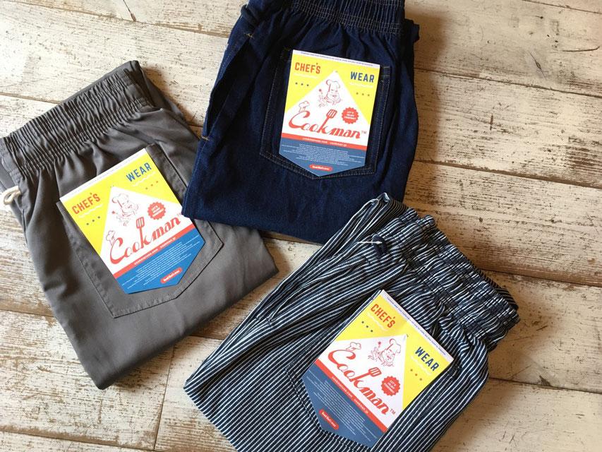 Cookman(クックマン) Chef Pants 各¥4,900(+TAX)