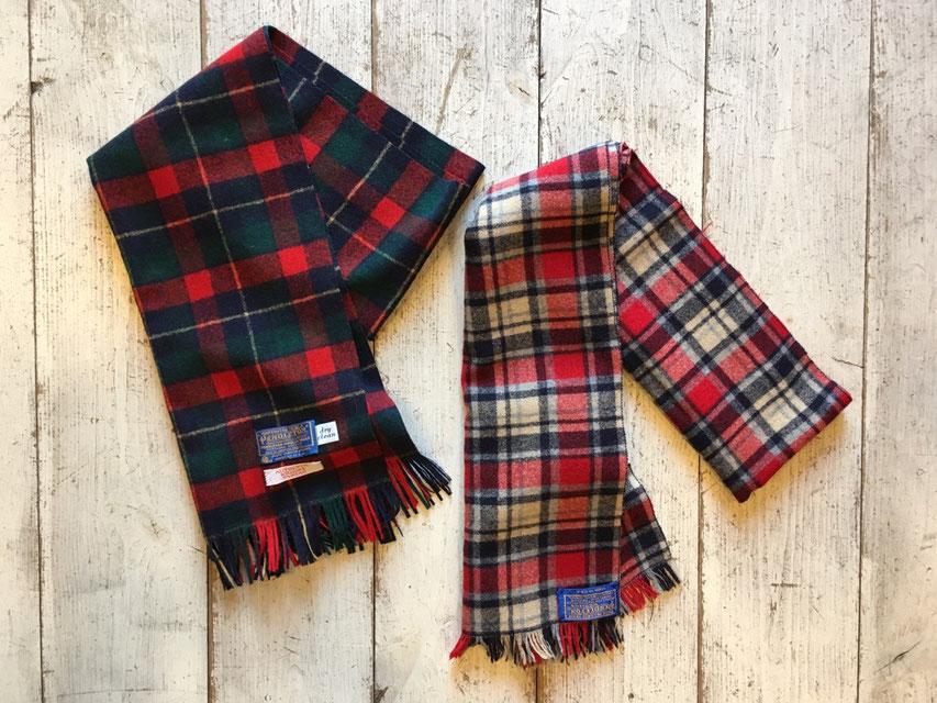 PENDLETON(ペンドルトン) Wool Muffler 各¥3,240~¥4,320(税込)