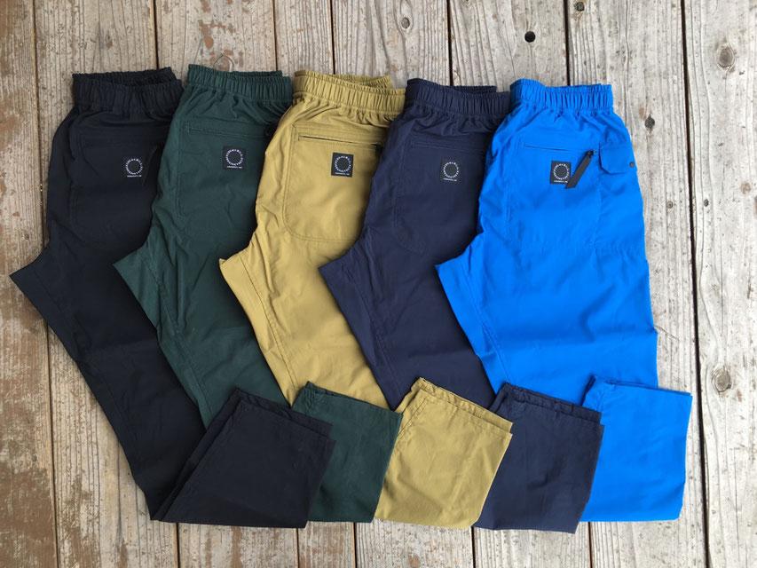 山と道(ヤマトミチ) DW Pocket Pants 各¥16,500(+TAX)