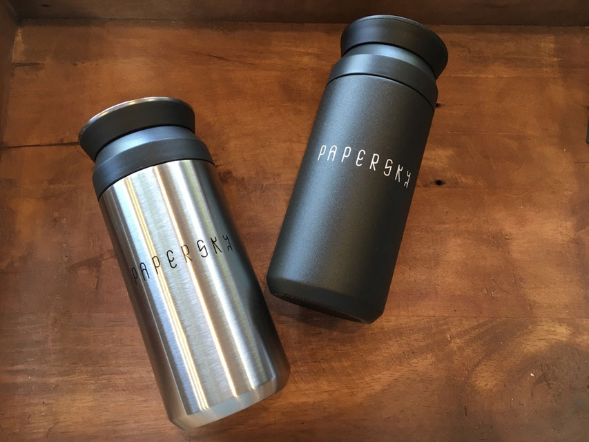 PAPERSKY(ペーパースカイ) Travel Tumbler 各¥3,600(+TAX)