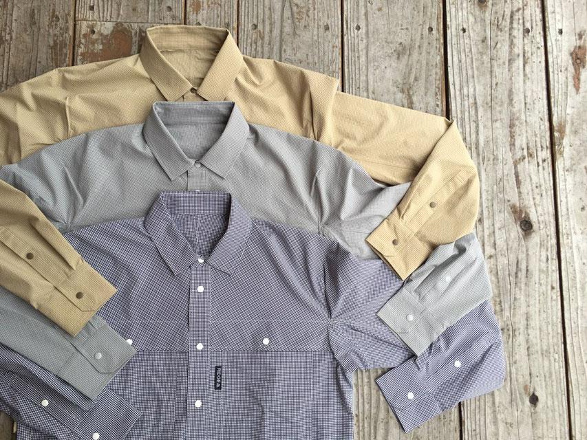RIDGE MOUNTAIN GEAR(リッジマウンテンギア) Big Poket Long Sleeve Shirt 各¥22,091(+TAX)