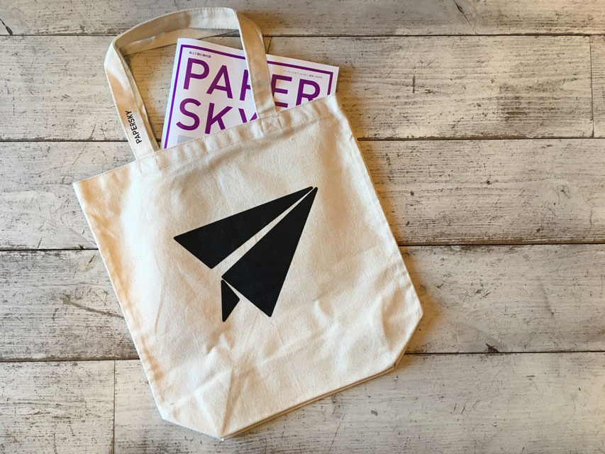 PAPERSKY(ペーパースカイ) キャンバストート / Everywhere Tote ¥1,620(税込)