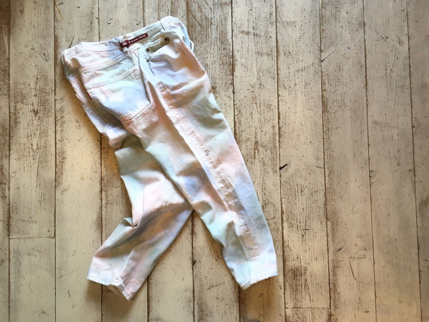 Sunny Side Up(サニーサイドアップ) Color Camo Denim Pants ¥16,800(+TAX)