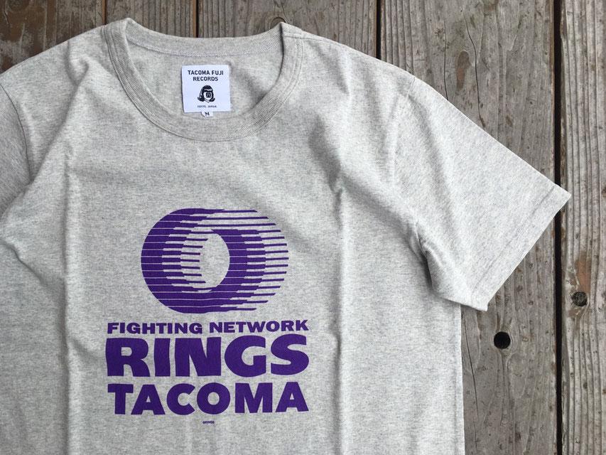 TACOMA FUJI RECORDS(タコマフジレコード) RINGS TACOMA TEE re-designed by Jerry UKAI ¥5,800(+TAX)