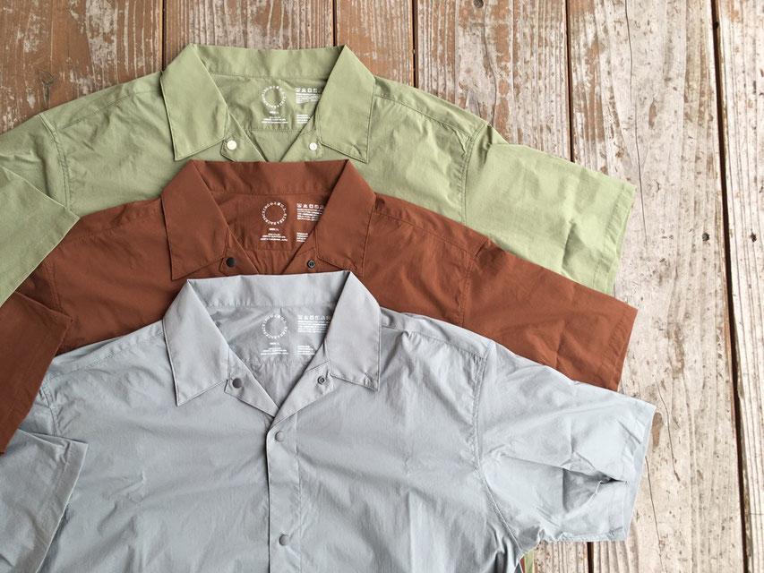 山と道(ヤマトミチ) UL Short Sleeve Shirt 各9,500(+TAX)