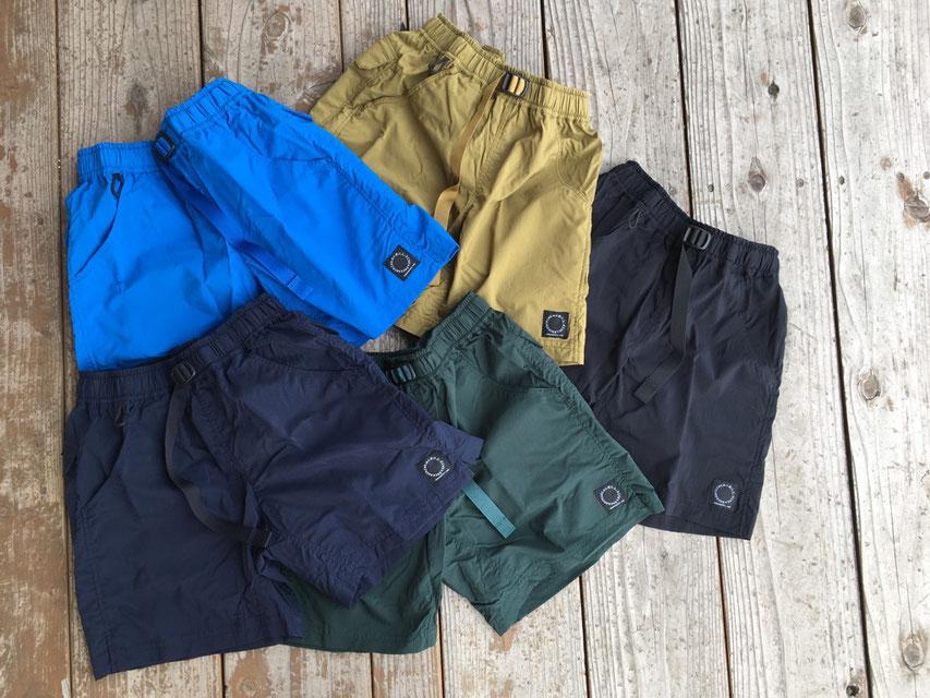 山と道(ヤマトミチ) DW 5-Pocket Shorts 各¥13,000(+TAX)