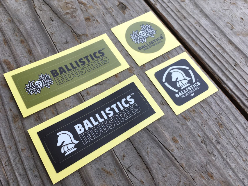 BALLISTICS(バリスティクス) STICKER SET(4SET) ¥540(税込)