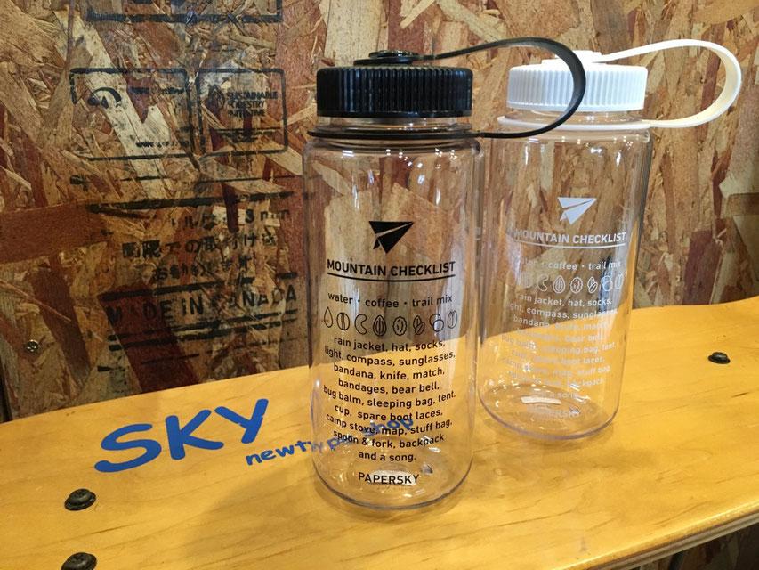PAPERSKY(ペーパースカイ) ボトル / Nalgen Bottle(500ml) 各¥2,268(税込)