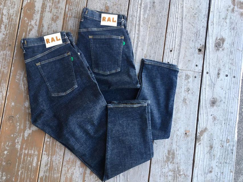 RAL(ラル) High Kick Riding Jeans 各¥15,000(+TAX)