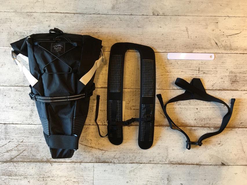※ Bike'n Hike Bag(Mountain Edition)は別売りとなりますのでご注意くださいませ。