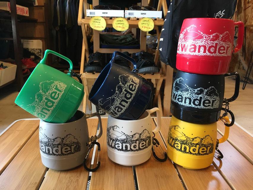 and wander(アンドワンダー)DINEX 各¥1,600(+TAX)