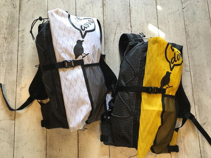 welldone(ウェルダン) 12L Chips Bag(X-PAC&Black Dyneema) 各¥19,440(税込)