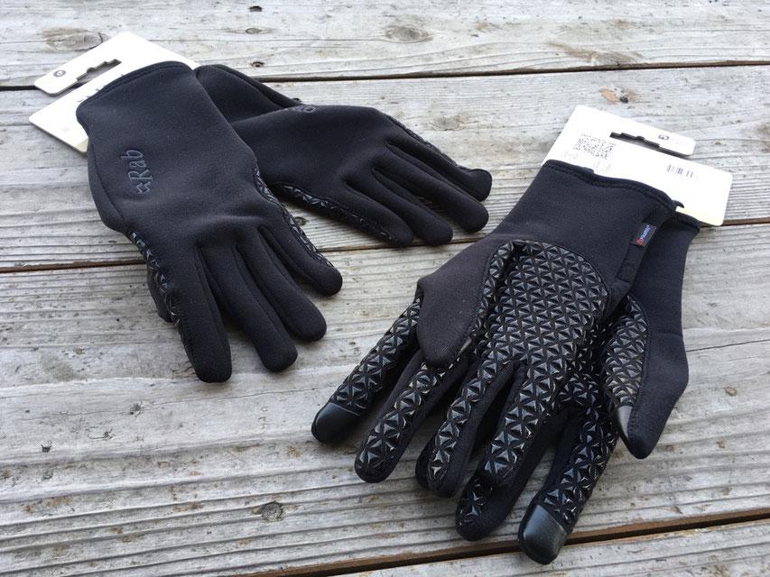 Rab(ラブ)Power Stretch Pro Grip Glove ¥5,400(税込)