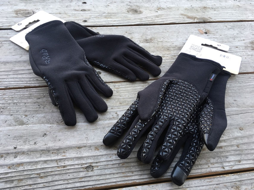 Rab(ラブ)Power Stretch Pro Grip Glove ¥5,000(+TAX )