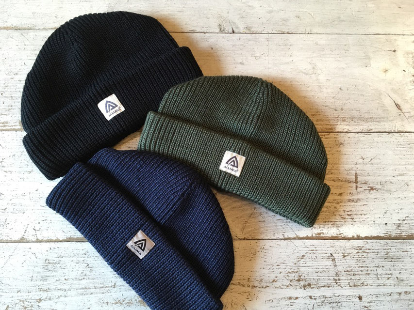 ACLIMA(アクリマ)WARMWOOL FORESTER CAP 各¥4,320(税込)