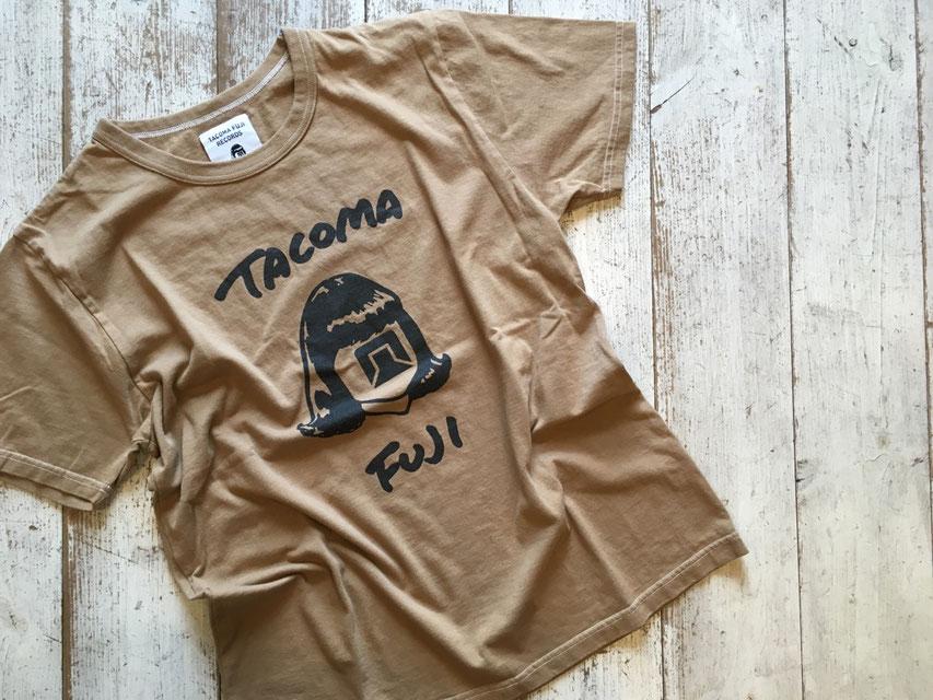 TACOMA FUJI RECORDS(タコマフジレコード) TACOMA FUJI HW LOGO COLOR : COFFEE DYE ¥6,000(+TAX)