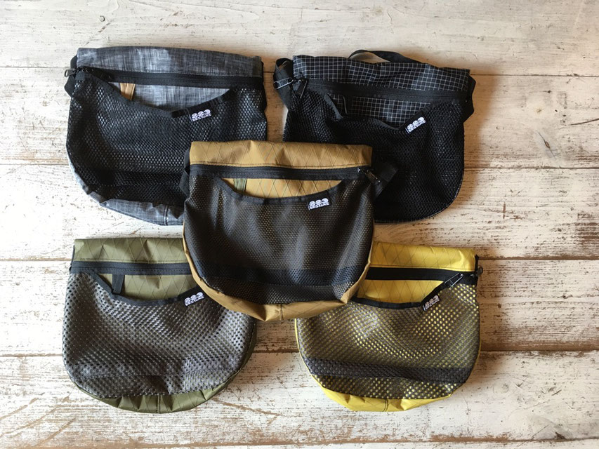 883 designs(ハヤミデザイン) Round Shoulder bag 各¥6,480(税込)