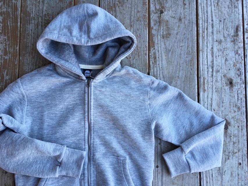 Yetina(イエティナ) fullzip hoodie 各¥29,800(+TAX)