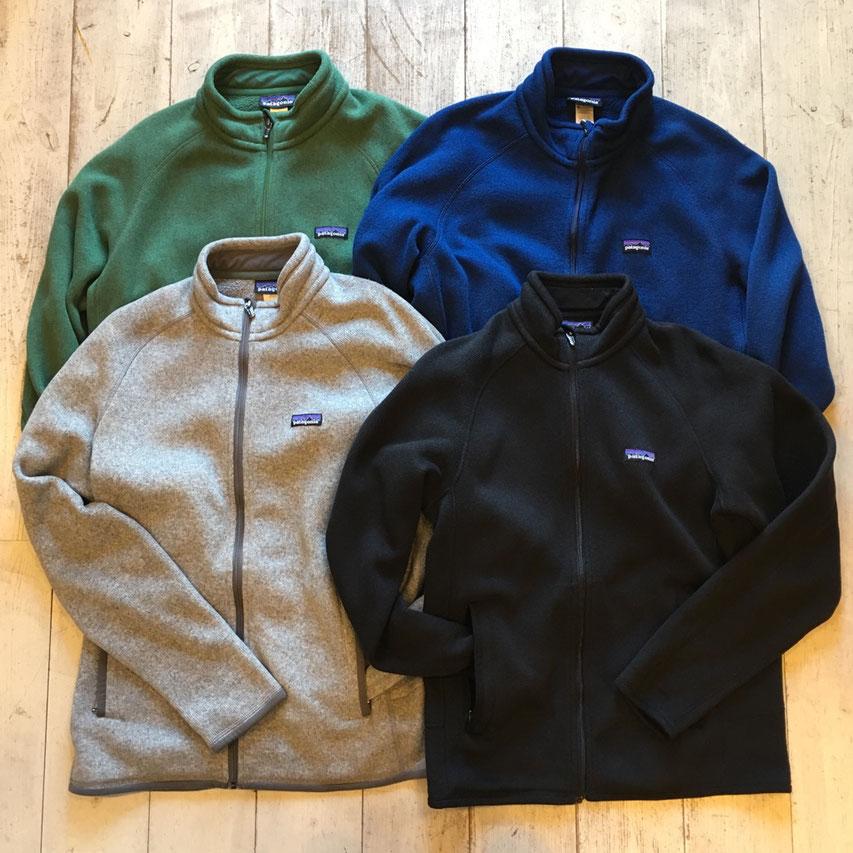 patagonia(パタゴニア) Better Sweater Jacket 各¥8,640~9,720(税込)
