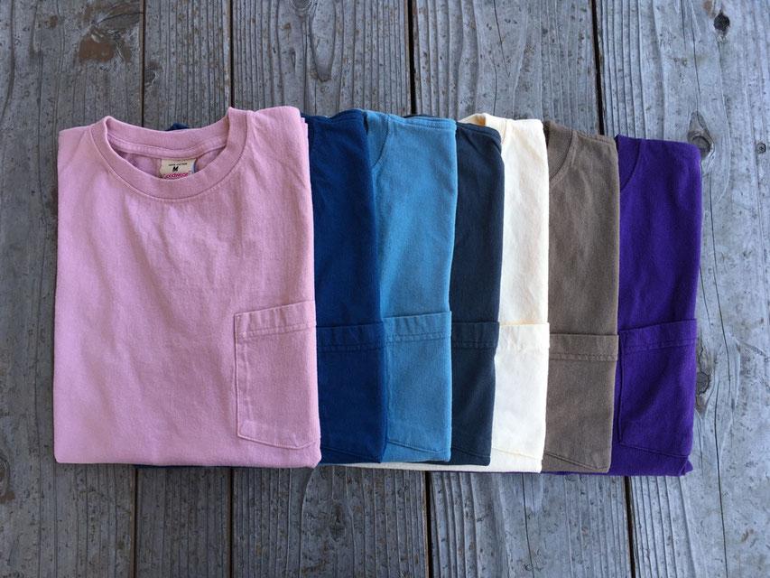 Goodwear(グッドウェア) SS Pocket Tee 各¥5,900(+TAX)