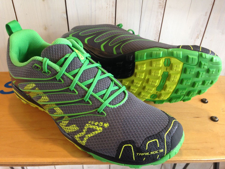 Inov8(イノベイト) TRAILROC 235 (Grey/Neon Yellow/Green)